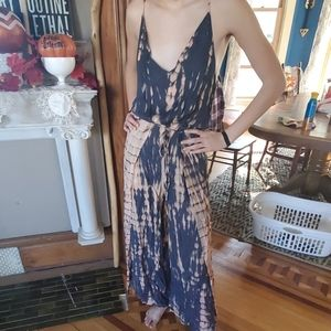 Boho wrap one piece pants and top combo